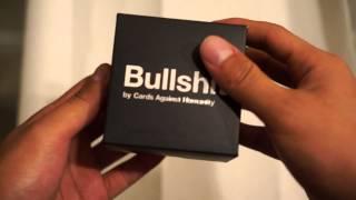 Cards Against Humanity Bullshit Unboxing