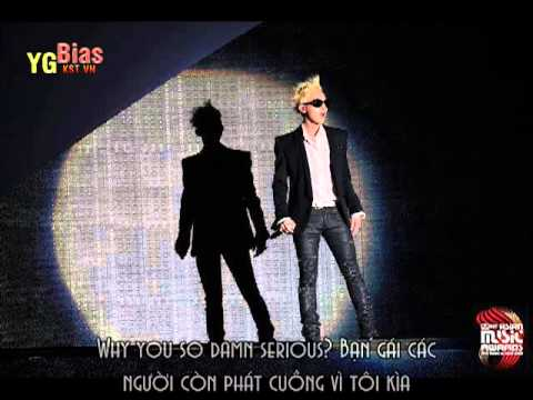 [Vietsub] G-Dragon's Intro Rap Performance in MAMA by YGBias {Read the Description}