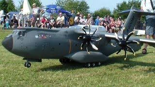 Paratrooper out a A400M Military R/C Airplane Gigantic RC Scale Airbus #RCHeliJet