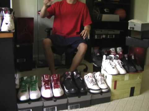 #8 Air Jordan Shoe Review/Collection Sale True Blue Infrared Space Jam Video