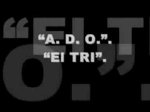 El TRI - ADO. (Con la letra)...