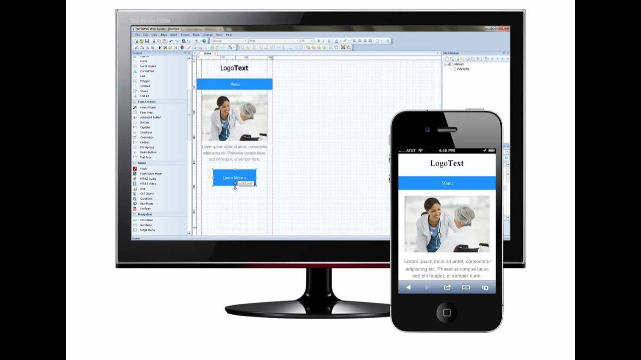 how to design a mobile website