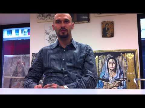 Intervista a Nicolai Lilin per l'uscita del film Educazione Siberiana