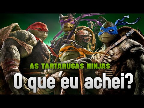 As Tartarugas Ninjas - O que eu achei?