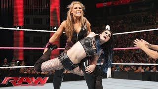Natalya vs. Paige: Raw, Oct. 5, 2015