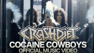 Watch Crashdiet Cocaine Cowboys video