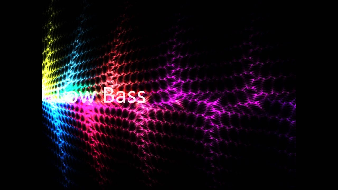 Low Bass Sound Youtube
