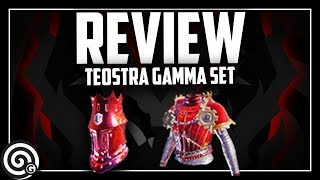 WORTH IT? Teostra Armor Set GAMMA - Review! | Monster Hunter World