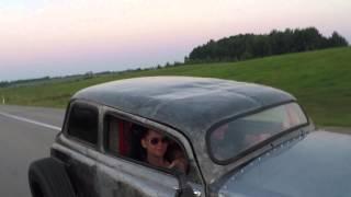 ZAZ 965 Frankenstein first ride
