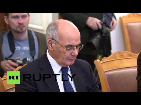 Russia: Lavrov meets Algerian Energy Minister to discuss global energy market
