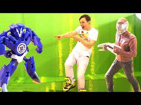 #ДЕСЕПТИКОНЫ атакуют #МУЛЬТИМИР 2017! Звездный лорд #Marvel против ДЕСЕПТИКОНОВ! Игры для мальчиков