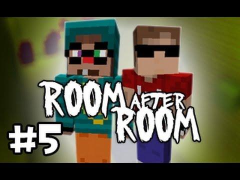 Minecraft: Room After Room w/ Ze & ChimneySwift - Part 5: Finally Outtt