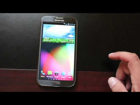 Verizon Galaxy Note 2 Bean's Custom Build 1 Rom [Full REVIEW] and Install