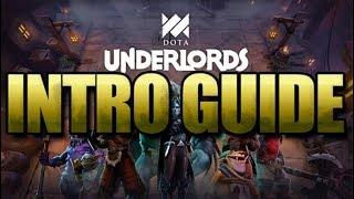 DOTA Underlords Intro Guide! [DOTA Underlords]