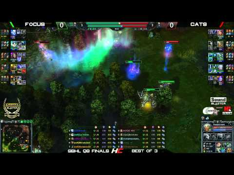 Sound Blaster Heroes League Quali CIS/SEA - Cats vs nxlF game 1