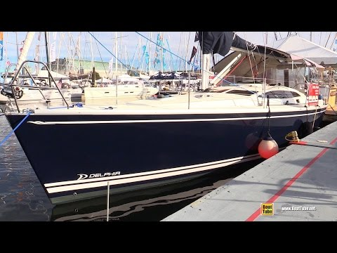 2015 Delphia 40.3 Sailing Yacht - Deck and interior Walkaround - 2015 Annapolis Sail Boat Show