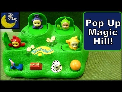 Teletubbies Pop Up Toy Magical Hill with Lala, Dipsy, Tinky Winky & Po