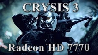 Тест Crysis 3 Athlon II X4 750k 3.6ghz hd7770