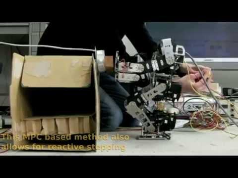 Safe Haptic control of Humanoid Robots arms via Model Predictive Control