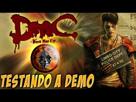 DMC - Devil May Cry - Testando a DEMO