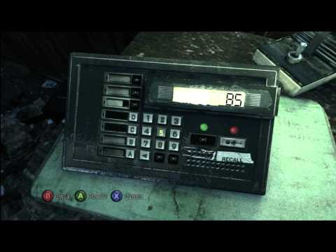 Silent Hill Downpour Patrol Car Puzzle