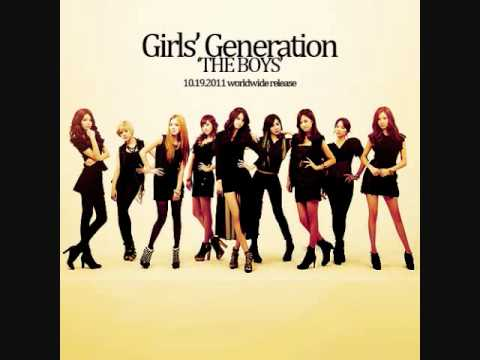 [AUDIO] SNSD - The Boys (KOR ver.) Music Videos
