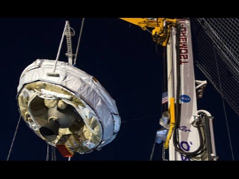 NASA Flying Saucer - Test Launch of NASA Real 'UFO' June 5th 2015