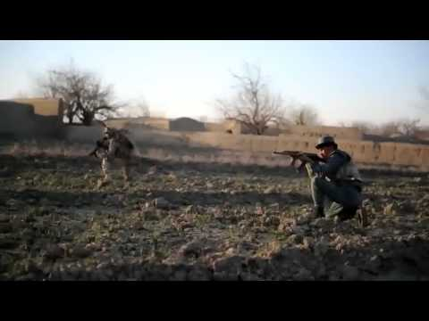 US Marine fight the Talibans in province of Kandahar in Afghanistan