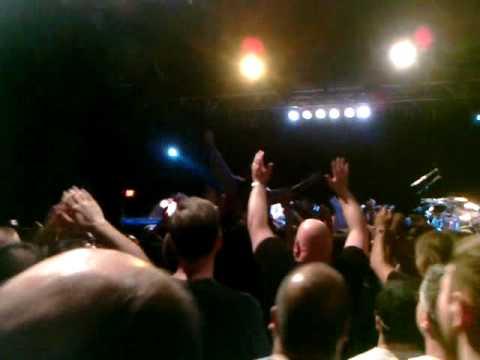 Transatlantic - Mike Portnoy crowd surfing in Philly, April 24, 2010