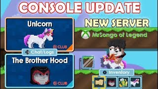 NEW CONSOLE UPDATE + TESTING NEW ITEMS!! (PS4 vs XBOX vs PC) | GrowTopia