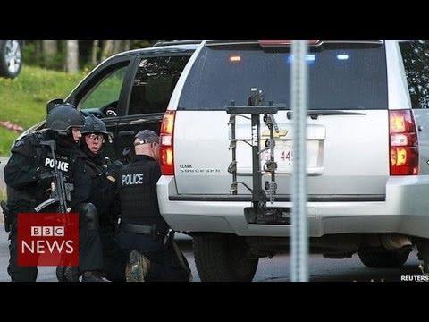 Canada shooting: 3 Moncton policemen shot dead - BBC News