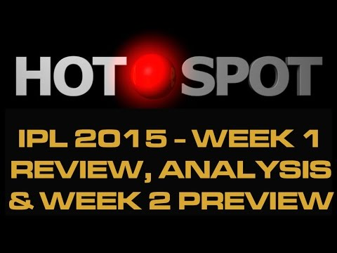 Hot Spot - IPL 2015 First Week Review - Cricket World TV