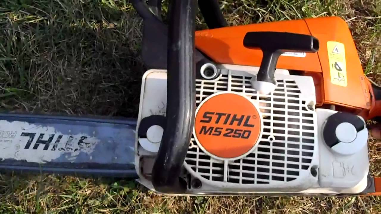 stihl ms 250 my lil wood cutter in hd youtube. Black Bedroom Furniture Sets. Home Design Ideas