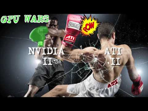 GPU WARS! NVIDIA GTX 480 vs ATI RADEON HD 5870! 5 Round Graphics Card Battle!! :D