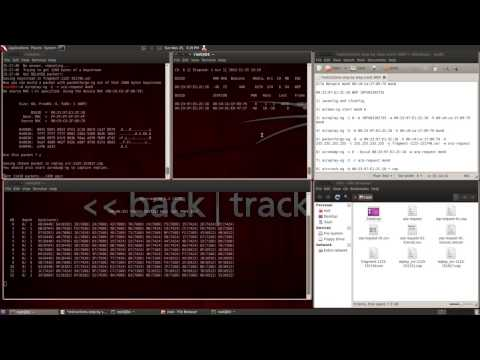 How to Crack wireless with WEP encryption KEY in 5 min