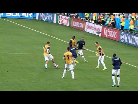 Karim Benzema ● Paul Pogba ●  Ecuador vs France 2014 ● Maracana Rio de Janeiro