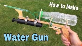 Cómo Hacer Una Pistola De Agua En Casa - Muy Potente - Manera Fácil - Tutorial