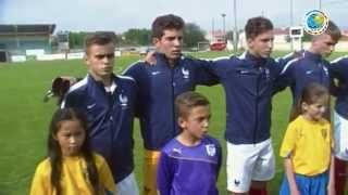 Football U 16 France vs Allemagne Match Amical  Hymne de l