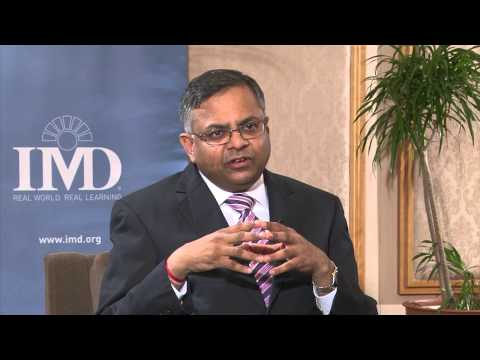 Interview with Natarajan Chandrasekaran, CEO & Managing Director, Tata Consultancy Services Limited
