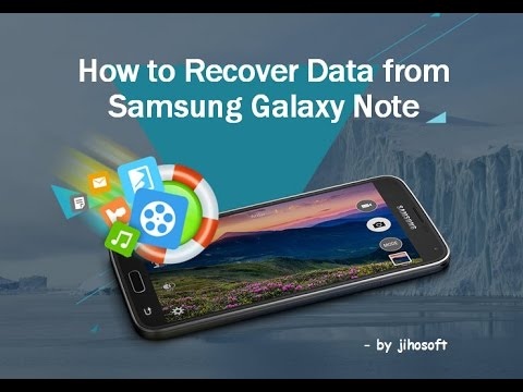 Galaxy note android recovery
