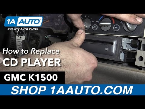 How to Remove Install CD Player 1996 GMC Sierra Buy Quality Auto Parts at 1AAuto.com