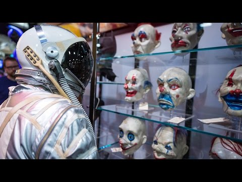 Adam Savage Incognito at Comic-Con 2014: Mercury Spacesuit
