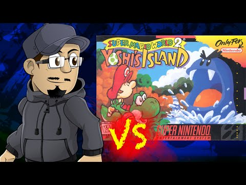Johnny vs. Super Mario World 2: Yoshi's Island