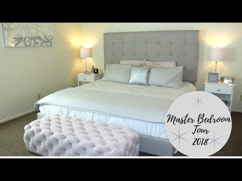 MASTER BEDROOM TOUR 2018 | Elegant Gray Tones | Room Tour |Room Makeover | Elegant Rooms Tour