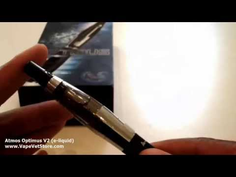 Atmos Optimus V2 Vaporizer Review (for e-juice and e-liquid) - VapeVetStore.com