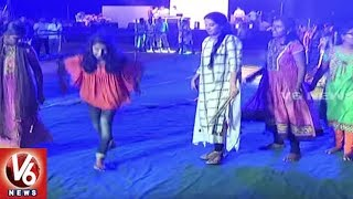 Navaratri Dhoom Dhaam Dandiya Celebrations In Mahbubnagar | Bathukamma