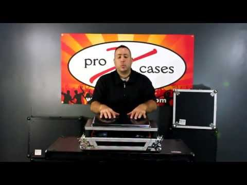 ProX X-VMS4LT American Audio VMS4 Flight Gig Ready Road Case Hard Dj Controller