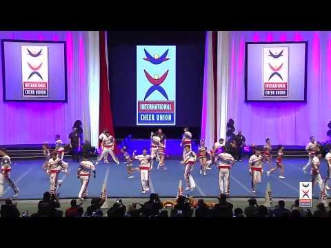 Team Chinese Taipei Coed Premier 2015 ICU World Cheerleading Championships
