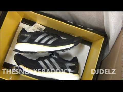Adidas Energy Boost Sneaker Review With @DjDelz + Boost VS EVA Test & On Feet HD THESNEAKERADDICT
