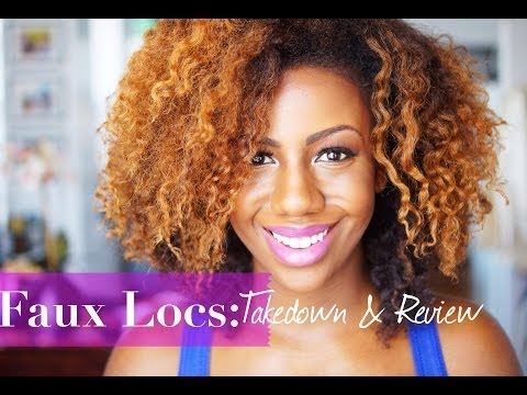 Faux Locs: Take Down, Removal and Review